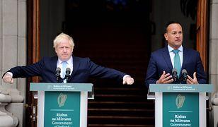 Z Borisa Johnsona i Wielkiej Brtyanii kpią dziś nawet Irlandczycy
