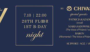 Zmiana line-upu pierwszych urodzin 28. piętra klubu The View!