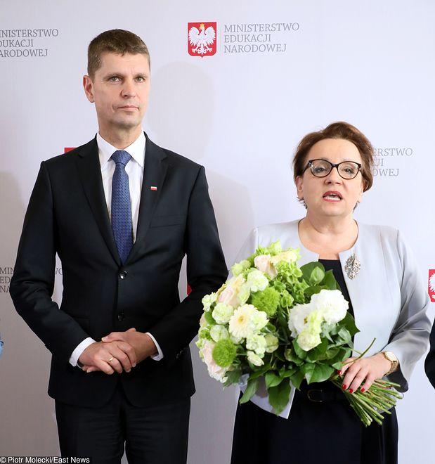 Dariusz Piontkowski zastąpił Annę Zalewską