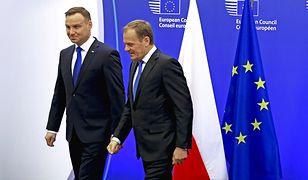 Duda i Tusk pozostają poza zasięgiem konkurencji