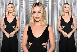Margot Robbie odczarowuje małą czarną. Na imprezie Elle wszyscy patrzyli na nią!