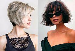 Najmodniejsze fryzury półkrótkie w 2018 roku