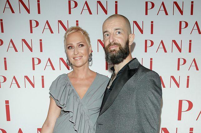 Anita Lipnicka z mężem