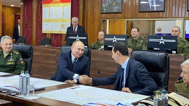 Syria. Władimir Putin z niezapowiedzianą wizytą w Damaszku