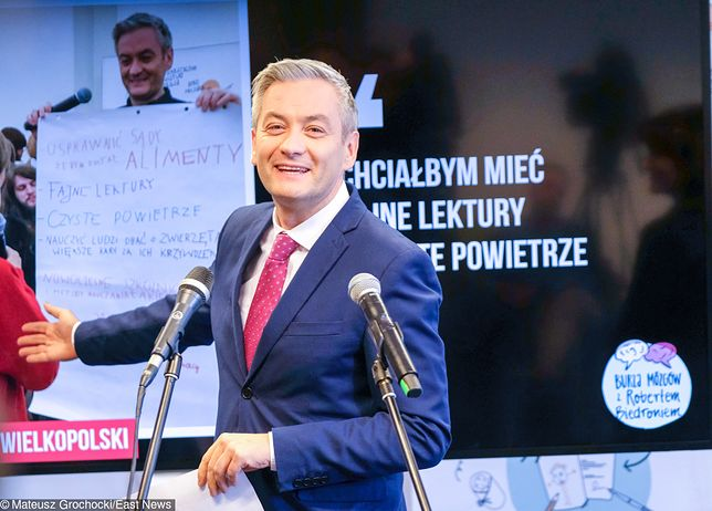 Biedroń: Do Wiosny zapisało się 1000 nowych osób