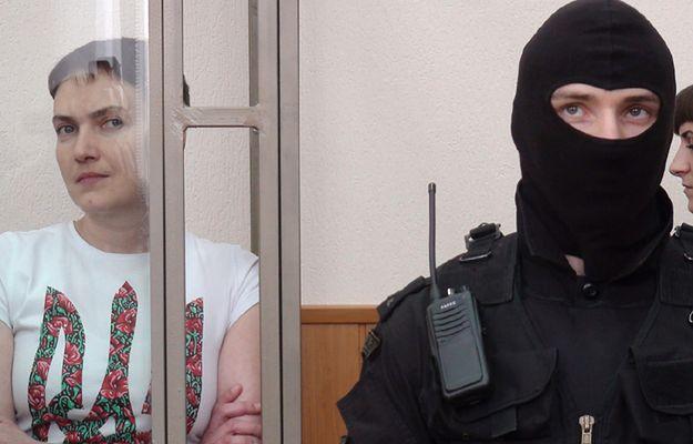 Nadia Sawczenko podczas procesu