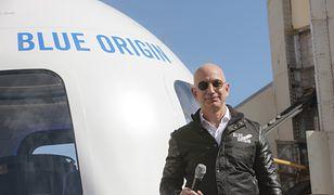 Jeff Bezos wkrótce poleci w kosmos