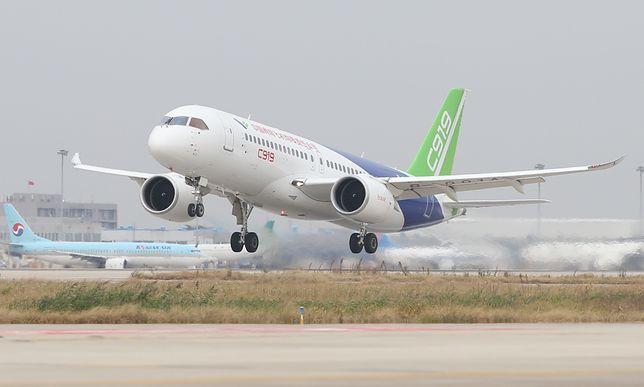 Boeing 737 będzie mieć rywala z Chin - Comac C919. Cały jest podróbką