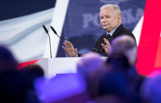 """Jarosław Kaczyński: """"Kto podnosi rękę na Kościół, go chce zniszczyć, ten podnosi rękę na Polskę"""""""