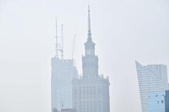 Warszawa. Smog w stolicy