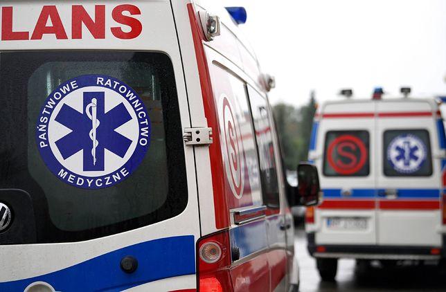 Warszawa. Piesza potrącona na przejściu. Kobieta trafiła do szpitala