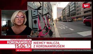 """Od zamknięcia granic przez koronawirusa nie była w Polsce. """"W Niemczech nie ma zakazów"""""""
