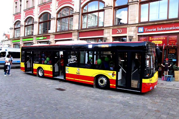 Miasto Przeciw Korkom - tak brzmi nowe hasło promujące komunikację miejską we Wrocławiu