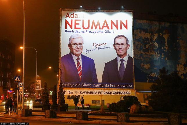 Adam Neumann nowym prezydentem Gliwic. Wygrał w pierwszej turze