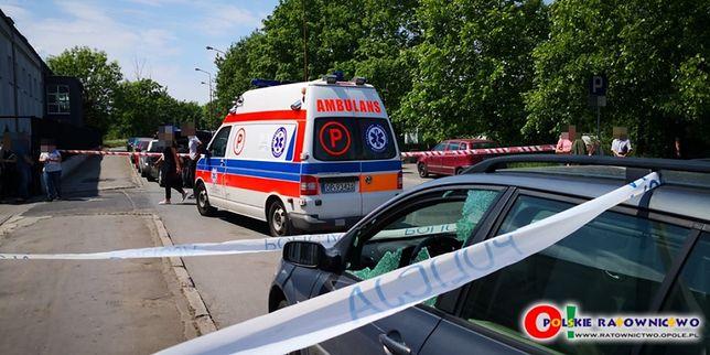 """Strzelanina przed komisariatem w Opolu. """"Myślałyśmy, że to jakieś ćwiczenia"""""""