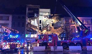 Wybuch gazu w budynku mieszkalnym w Antwerpii