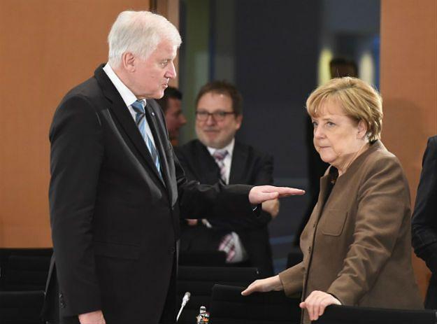 Horst Seehofer i Angela Merkel