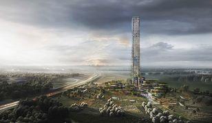 Najwyższy budynek w UE. Wieżowiec Bestseller Village & Tower stanie na pustym polu