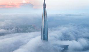 Rosjanie mają największy wieżowiec w Europie. Jest siedzibą Gazpromu