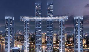 """Chińczycy budują """"poziomy wieżowiec"""". Raffles City Chongqing bliski ukończenia"""