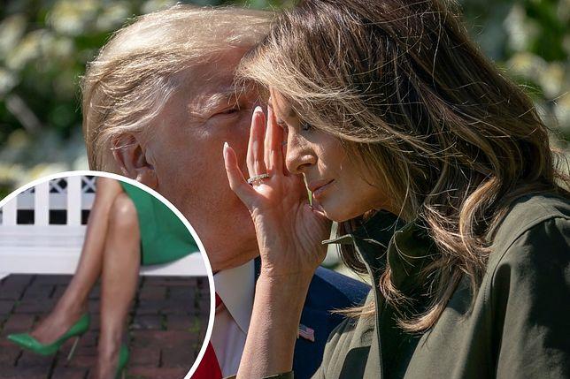 Melania Trump została oceniona przez ekspertkę od mowy ciała