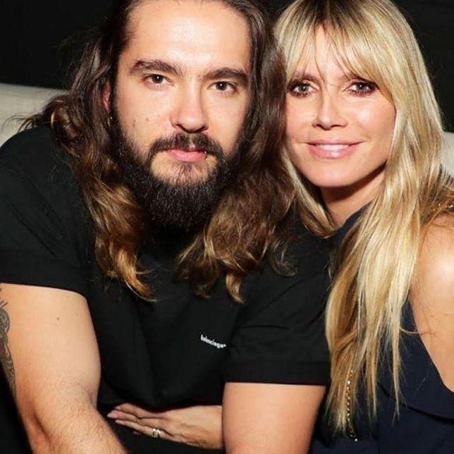Tom Kaulitz i Heidi Klum - para jak z obrazka