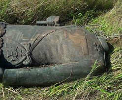 Kradzieży pomnika marszałka na Dolnym Śląsku. Akcja legnickiej policji