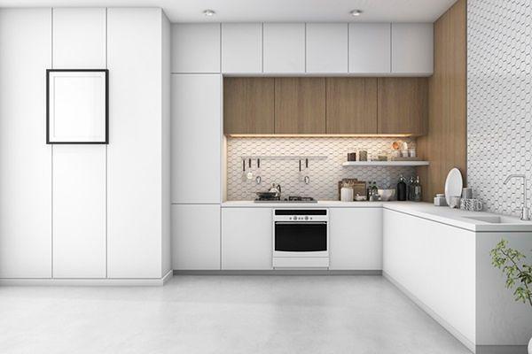 Klasyczna biała kuchnia