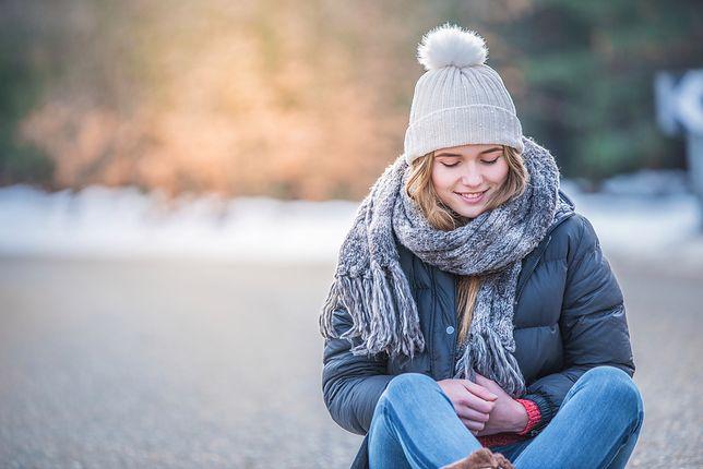Puchówka świetnie zabezpieczy przed zimnem