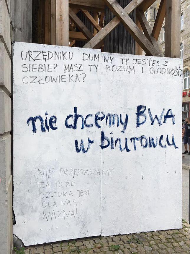 Oficjalne pisma do władz miasta wysłane, a taka jest petycja ulicy
