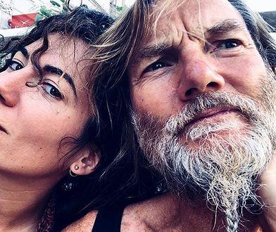 Julia Pogrebińska z mężem Johnem Scottem