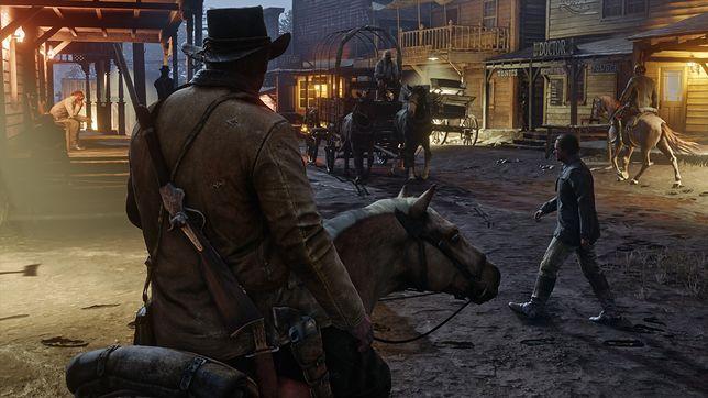 """""""Red Dead Redemption 2"""": premierowy weekend to prawie miliard dol. przychodu"""