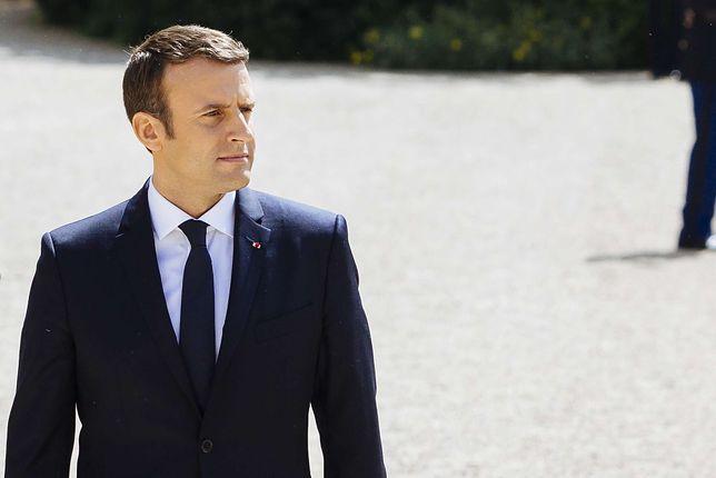 Emmanuel Macron: chcę wierzyć, że polski rząd rozwieje obawy KE