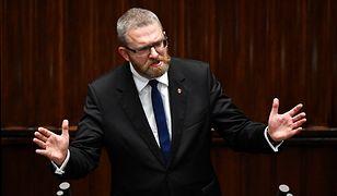 Groźba Grzegorza Brauna w Sejmie