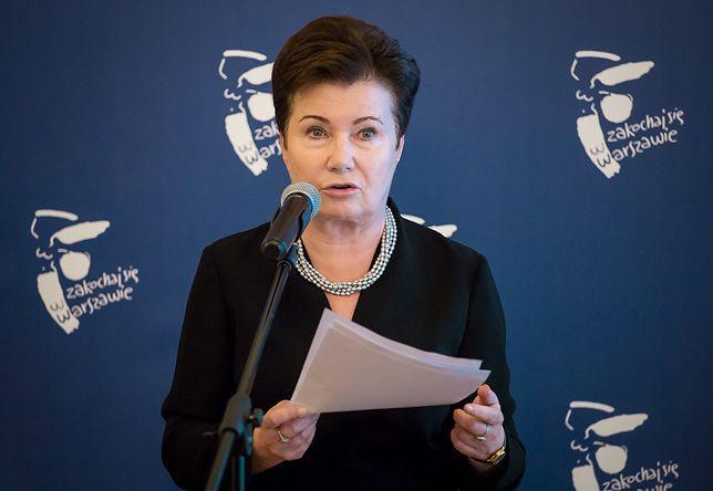 """Gronkiewicz-Waltz: """"nie wciśniemy pomników smoleńskich przy Krakowskim Przedmieściu"""""""