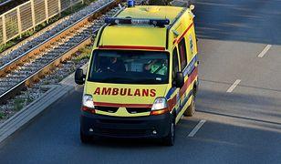 Dramatyczny wypadek na S8 koło Sieradza. Mężczyzna walczy o życie
