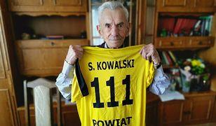 Świdnica. Ma 111 lat. Pan Stanisław jest najstarszym lekkoatletą Europy