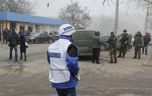 OBWE po ataku na Mariupol: rakiety wystrzelono z obszarów kontrolowanych przez separatystów