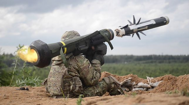 USA dostarcza Ukrainie broń przeciwpancerną. Departament Stanu potwierdza