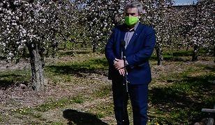 Ministrowi Ardanowskiemu oberwało się za stwierdzenie, że w Polsce mamy różne strefy klimatyczne