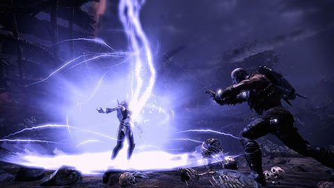E`lara i Caddoc na kolejnych obrazkach z Demon`s Forge