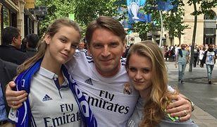 Tomasz Lis z Polą i Igą Lis