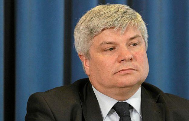 Przewodniczący PKBWL Maciej Lasek