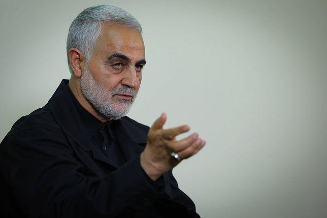 Generał Kasem Sulejmani zginął w ataku USA w Bagdadzie