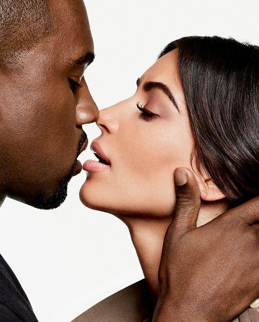 Kim i Kanye przed obiektywem Karla Lagerfelda