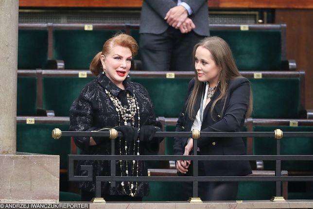 Georgette Mosbacher - ambasador USA z wizytą w Sejmie