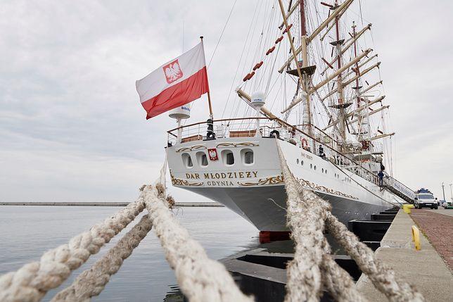"""""""Dar Młodzieży"""" zawinie do 22 portów w 18 krajach"""