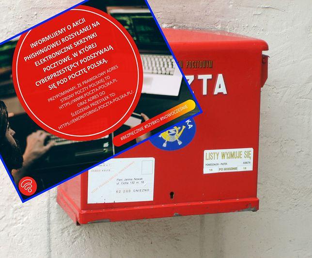 Poczta Polska przestrzega: ktoś podszywa się pod operatora.