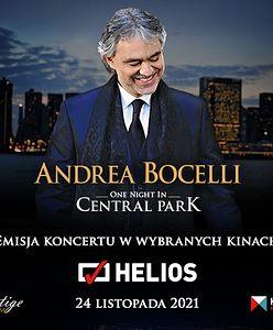 Andrea Bocelli na ekranach kin Helios w całej Polsce