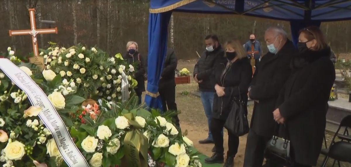 Andrzej Kosmala pozostał dłużej nad grobem Krzysztofa Krawczyka